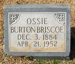 Ossie <i>Burton</i> Briscoe