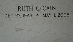 Deacon Ruth <i>Clarke</i> Cain