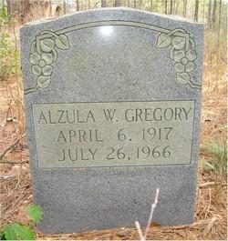 Alzula W. Gregory