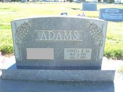 Lowell Raymond Adams, Sr