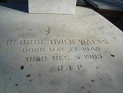Col George Owen Watts