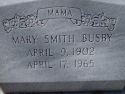 Mary Elizabeth <i>Smith</i> Busby