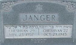 Cheshvan Janger