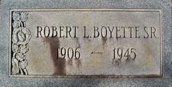 Robert L Boyette, Sr