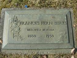 Frances Fern Burks