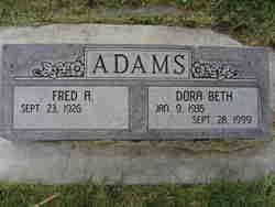 Dora Beth Adams
