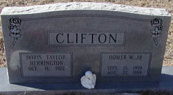 Doris Taylor <i>Herrington</i> Clifton