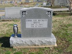 Emma Lee <i>Beckett</i> Batts