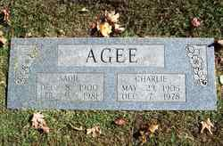 Charlie James Agee