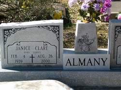 Janice Clare <i>Harris</i> Almany