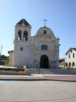 Mission San Carlos Cemetery(Royal Presidio Chapel)