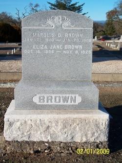 Eliza Jane <i>Laughlin</i> Brown