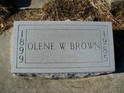Olene Minnie <i>Witcher</i> Brown