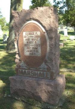 Mary <i>Burton</i> Marshall