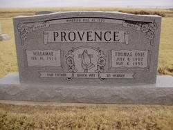 Thomas Onie Provence