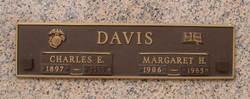 Margaret H Davis