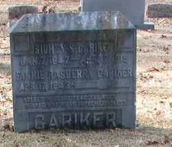Sidney S Cariker
