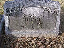 Grace Ann <i>Zaayer</i> Hodge
