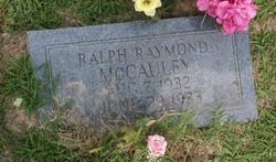 Ralph Raymond McCauley