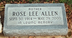 Rose Lee Allen