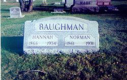 Hannah <i>Baughman</i> Baughman