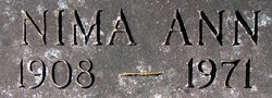 Nima Ann <i>May</i> Collins