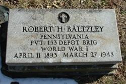 Robert Hartzell Baltzley, Sr