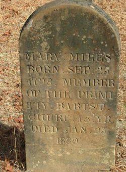 Mary E <i>Reden</i> Miles