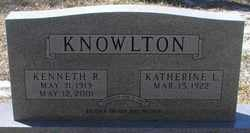 Kenneth Roger Knowlton