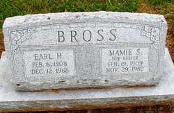 Mamie S <i>Keefer</i> Bross