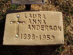 Laura Anna <i>Stagner</i> Anderson