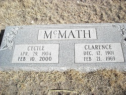 Clarence M McMath