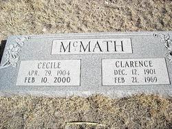 Cecile <i>Nivens</i> McMath