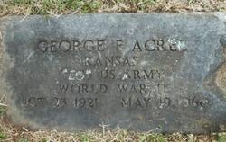George F. Acree