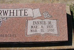 Fannie M <i>Anderson</i> Satterwhite
