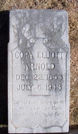 Cora Elizabeth <i>Elliott</i> Arnold