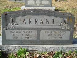 Ransom Parker Arrant