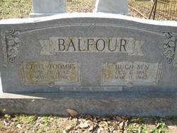Ethel <i>Toombs</i> Balfour