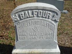 Charles Perry Balfour