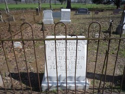 Catherine J. <i>Hudnall</i> Balfour