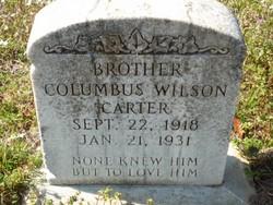Columbus Wilson Carter