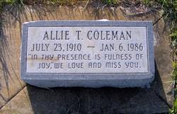 Allie T Coleman