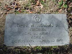 John Wesley Adams, Jr