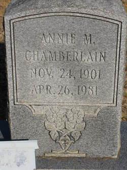 Annie M. <i>Parker</i> Chamberlain