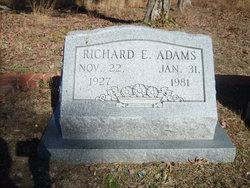 Richard E Adams