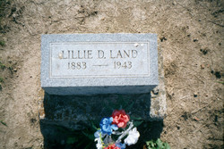 Lillie Dell <i>Lee</i> Land