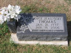 Joyce Jean <i>Osby</i> Thomas