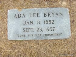 Ada Lee Bryan