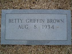 Betty <i>Griffin</i> Brown