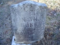 Nathanial Nath Bond